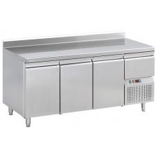 Konditorei Kühltisch, 1980x720x850 mm, 3 Türen