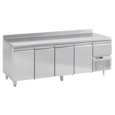 Konditorei Kühltisch, 2490x720x850 mm, 4 Türen