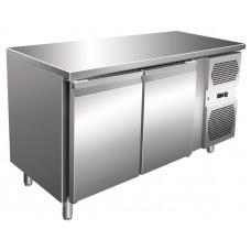 Kühltisch, 1360x600x860 mm, 2 Türen