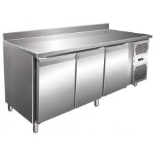 Kühltisch, 1795x600x860 mm, 3 Türen, Aufkantung