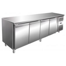 Kühltisch, 2230x600x860 mm, 4 Türen