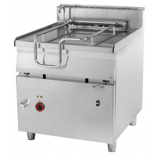 Kippbratpfanne Elektro, 800x900x900mm, 80 Liter
