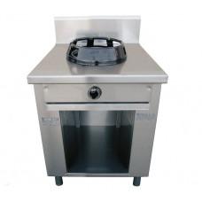 Allgas-Chinaherd 700x700x850mm