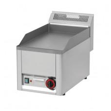 Elektro Griddleplatte, glatt, 330x600x290 mm, Edelstahl