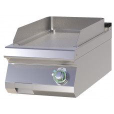 Griddleplatte Elektro, Tischgerät, glatt