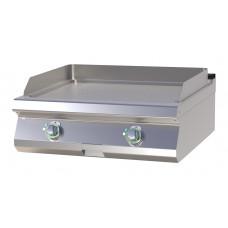 Griddleplatte Gas, Tischgerät, 800x730x300 mm, glatt