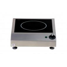 Auftisch Induktionsherd, 340x420x100 mm, 1 Kochstelle