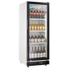 Flaschenkühlschrank, 230 Liter, schwarz, 530x635x1442 mm