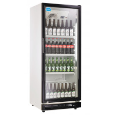 Flaschenkühlschrank, 310 Liter, schwarz, 620x635x1562 mm