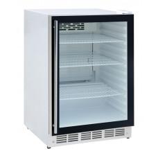 Kühlschrank mit Glastür, 595x595x850mm, 170 Liter