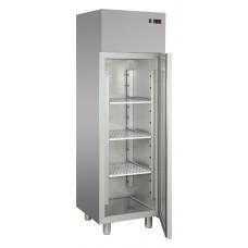Edelstahl Kühlschrank, 600 x 620 x 1900/2080 mm, 400 Liter