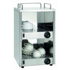 Tassenwärmer, Edelstahl, 320x320x545mm
