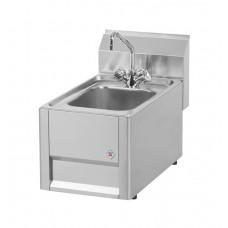 Spülbecken 330x600x290 mm, inklusive Wasserhahn