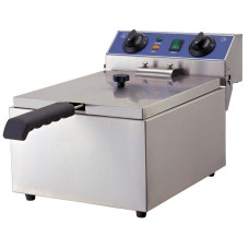 Fritteuse, Elektro, 290x440x285 mm, 1 Korb 200x220x100mm