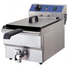 Fritteuse, Elektro, 280x460x325 mm, 1 Korb 200x220x100mm