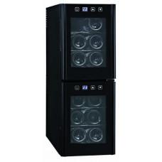 Weinkühlschrank, 254x515x731 mm, für 12 Flaschen
