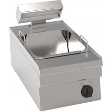 Elektro-Frittenwanne GN 2/3 herausnehmbare Salzwanne Tischgerät