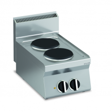 Elektro-Kochfläche mit 2 rundenPlatten Tischgerät