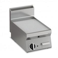 Elektro Grillplatte glatt verchromt  Fläche396x555mm 1 Heizzone Tischgerät
