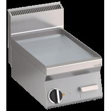Elektro Grillplatte gerillt  Fläche396x555mm 1 Heizzone Tischgerät