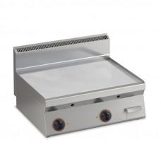 Elektro Grillplatte glatt verchromt  Fläche996x555mm2 Heizzone Tischgerät