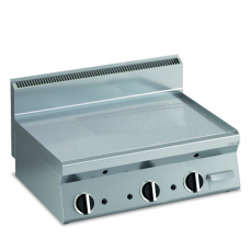 Elektro Grillplatte glatt 1/3 gerillt Fläche996x555mm2 Heizzone Tischgerät