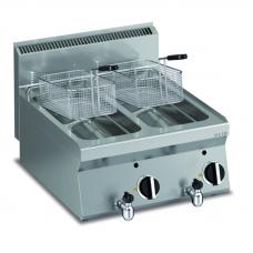 Elektro Friteuse 2 x 10 lt.  Tischgerät
