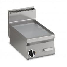 Gas Grillplatte gerillt  Fläche396x555mm 1 Heizzone Tischgerät