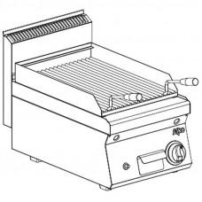 Gas Lavasteingrill  1 Heizzone Tischgerät