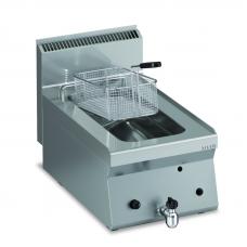 Gas Fritteuse 1 x 8 lt. Tischgerät