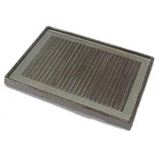 Brennerplatte Einzelrost gerillt für Gaskochflächen und Gasherde