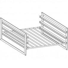 Führungsschienen-Kit GN 1/1 für Unterbauten 40cm