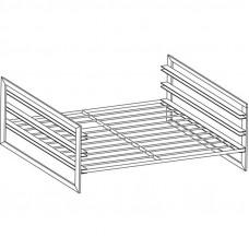 Führungsschienen-Kit GN 2/1 für Unterbauten 80cm