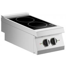 Induktions-Kochfläche 2 Platten Auftischgerät