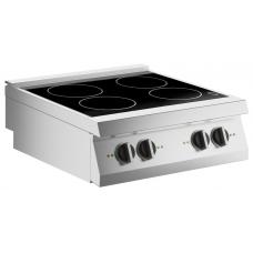 Induktions-Kochfläche 4 Platten Auftischgerät