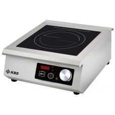 Induktions-Kochfläche mit Drehregler 5 KW SCHOTT CERAN® Feld
