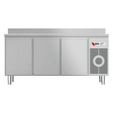 Tiefkühltisch mit Arbeitsplatte aufgekantet TKTF 3220 M