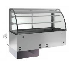 Kühlplatte kundenseitig offen E-EKVP 2A GN 2/1 OP o. Maschine