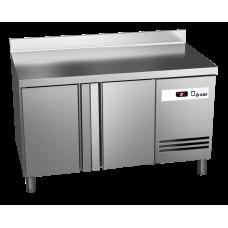 Tiefkühltisch Ready TKT2610 mit Arbeitsplatte und Aufkantung 2 Türen