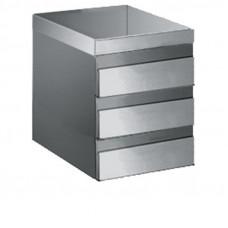 Schubladenblock für Arbeitstisch Tiefe 60cm